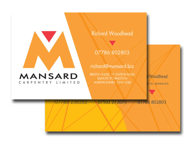 Mansard Business Cards