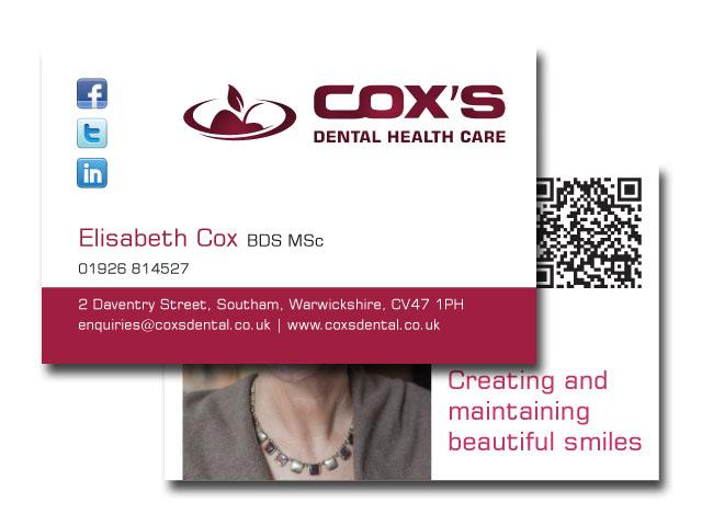 Coxs Dental Branding