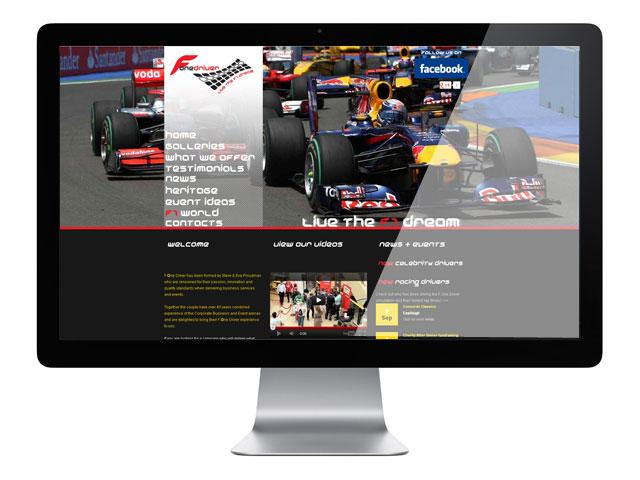 FOne Driver Web Design