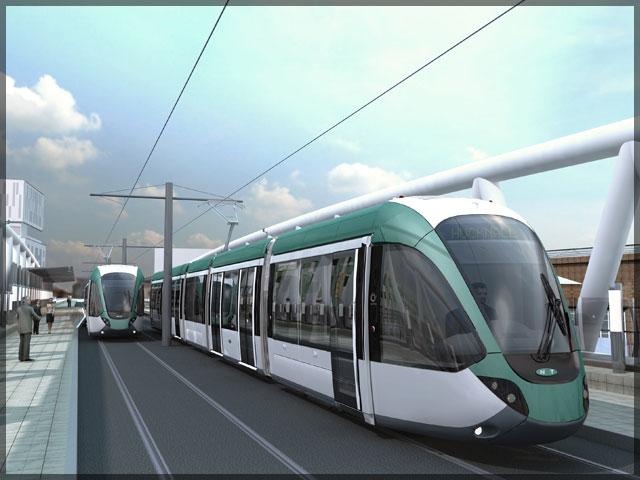 NET Alstom Tram 3d
