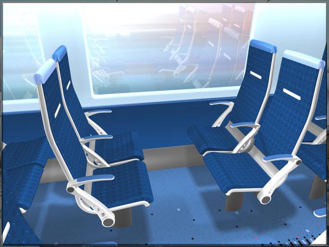 CAF 3D Interior Visulisation