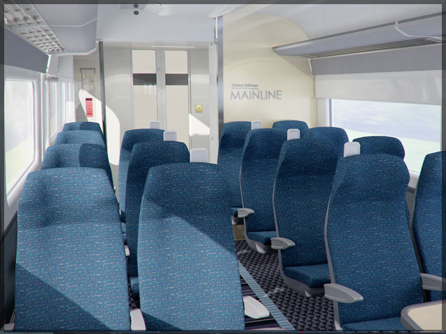 Chiltern Mainline 3d Interior Visualisation